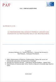 La prevenzione del disagio termico da DPI delle vie respiratorie