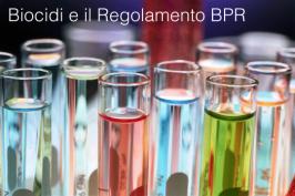 Biocidi e il Regolamento BPR