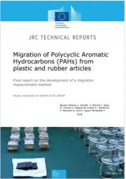 Migrazione IPA da articoli in plastica e gomma