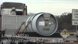 Linee indirizzo autorizzazione trasporto radioattivi