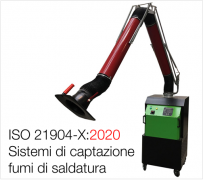 ISO 21904-X:2020 Equipment for capture and separation of welding fume
