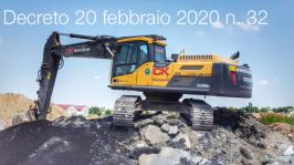 Decreto 20 febbraio 2020 n. 32