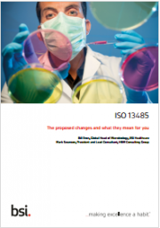 The new ISO 13485:2016 standard is published