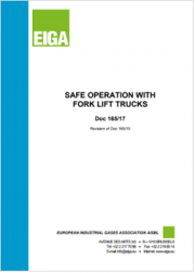 Safe operation with fork lift trucks