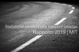 Statistiche sull'incidentalità nei trasporti stradali | Rapporto 2019