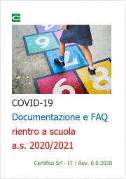COVID-19 | Documentazione e FAQ rientro a scuola a.s. 2020/2021