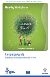 Stress lavoro correlato, lanciata a Bruxelles la campagna biennale 2014-2015