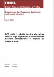 Guida tecnica verifica impianti DPR 462/01