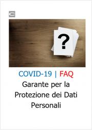 COVID-19 | FAQ - Garante per la Protezione dei Dati Personali