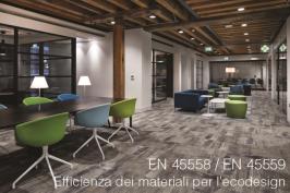 Efficienza dei materiali per l'ecodesign: EN 45558 ed EN 45559