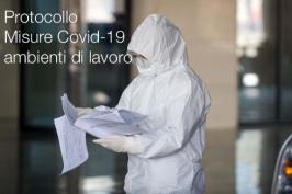 Protocollo Sicurezza luoghi di lavoro Covid-19