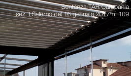 Sentenza TAR Campania, sez. I Salerno, del 16 gennaio 2017 n. 109