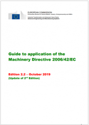 Guida direttiva macchine 2006/42/CE - Ed. 2019 EN