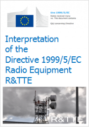 Interpretation of the Directive 1999/5/EC
