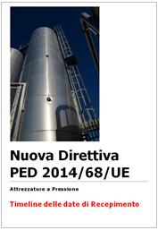 """Entrata in vigore Direttiva 2014/68/UE """"Attrezzature a Pressione - PED"""""""
