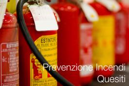 Quesiti di prevenzione incendi