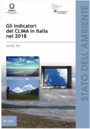 Gli indicatori del clima in Italia nel 2018