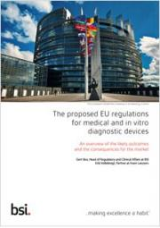 The proposed EU regulations for medical and in vitro diagnostic devices