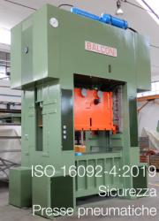 ISO 16092-4:2019 Sicurezza Presse pneumatiche