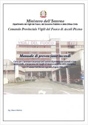 Manuale di prevenzione incendi - VVF