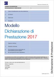 Dichiarazione di Prestazione DoP - Regolamento Prodotti da Costruzione 305/2011