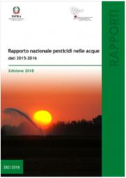 Rapporto nazionale pesticidi nelle acque dati 2015-2016
