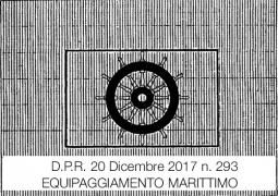 D.P.R. 20 dicembre 2017 n. 239 | Equipaggiamento marittimo