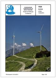 Linee guida sicurezza installazione trasporto turbine eoliche - FEM