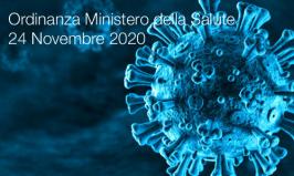 Ordinanza Ministero della Salute 24 Novembre 2020