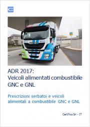 ADR 2017: Veicoli alimentati combustibile GNC e GNL