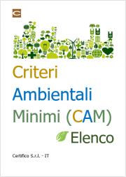 Criteri Ambientali Minimi (CAM) - Elenco