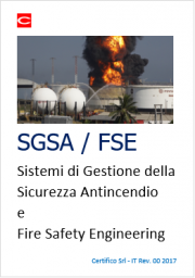 Sicurezza Antincendio: SGSA e FSE