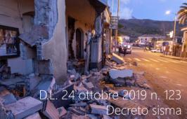 D.L. 24 ottobre 2019 n. 123