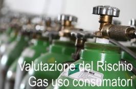 Valutazione dei Rischi connessi uso gas per consumatori