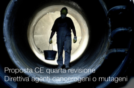 Proposta CE quarta revisione direttiva agenti cancerogeni o mutageni