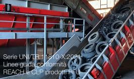 Serie UNI/TR 11810-X:2021   Linee guida conformità Reach e CLP prodotti PFU