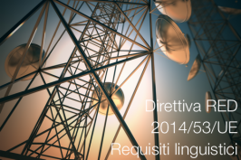 Direttiva RED: Requisiti linguistici