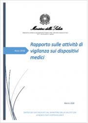 Rapporto attività di vigilanza sui dispositivi medici Ed. 2020