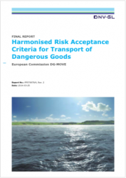 Harmonised Risk Criteria Transport Dangerous Goods