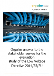 Evaluation study Low Voltage Directive 2014/35/EU | Orgalime