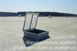 Quesito VVF documentazione aperture smaltimento fumo di emergenza