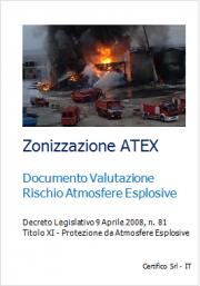 Documento Valutazione Rischio Atmosfere Esplosive: Modello conforme a CEI 31-35