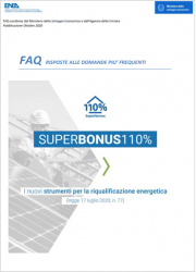 FAQ Superbonus 110% - ENEA Ottobre 2020