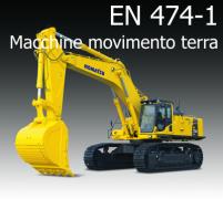Decisione di esecuzione (UE) 2015/17: EN 474-1:2006+A4:2013 macchine movimento terra