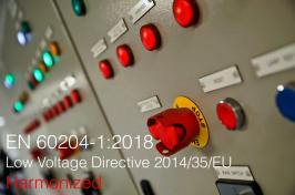 EN 60204-1:2018: Armonizzata Direttiva 2014/35/UE