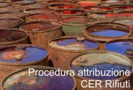 Procedura per l'attribuzione dei codici CER