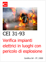 CEI 31-93 | Verifica impianti elettrici ATEX ante 30 Giugno 2003