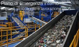 Piano di emergenza interno impianti di stoccaggio e lavorazione rifiuti