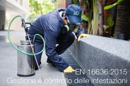 UNI EN 16636:2015 | Gestione e controllo delle infestazioni