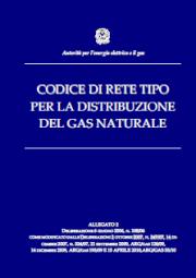 Codice di Rete per il servizio di distribuzione gas - CRDG